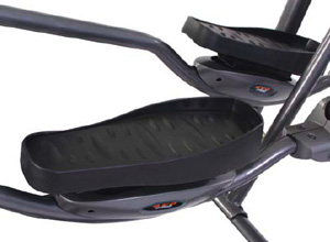elliptical trainer foot pedals
